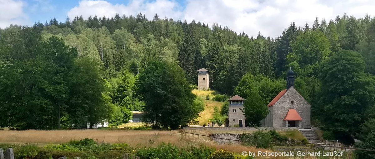 Freizeitführer Oberpfalz Ausflugsziel Flossenbürg