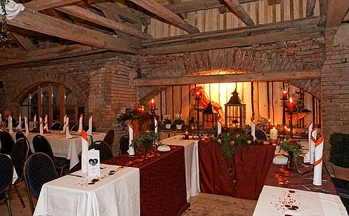 Cham Lokal für Hochzeitsfeier Brauttisch