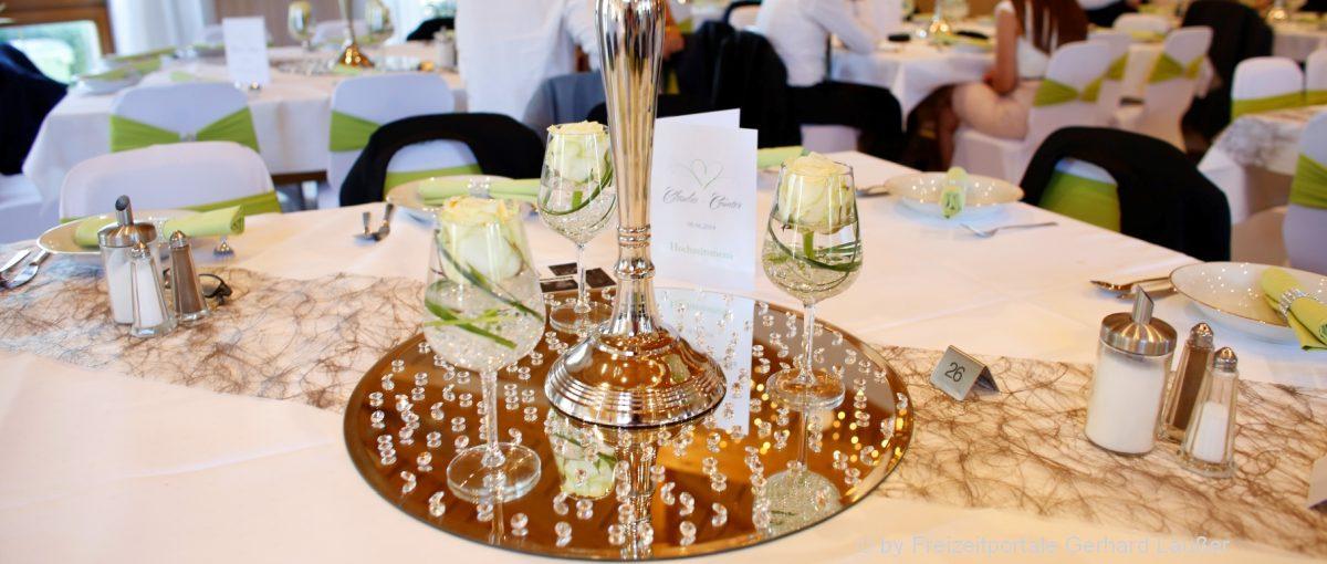 Hochzeitslocation im Landkreis Regen - Saal für Hochzeitsfeier in Niederbayern