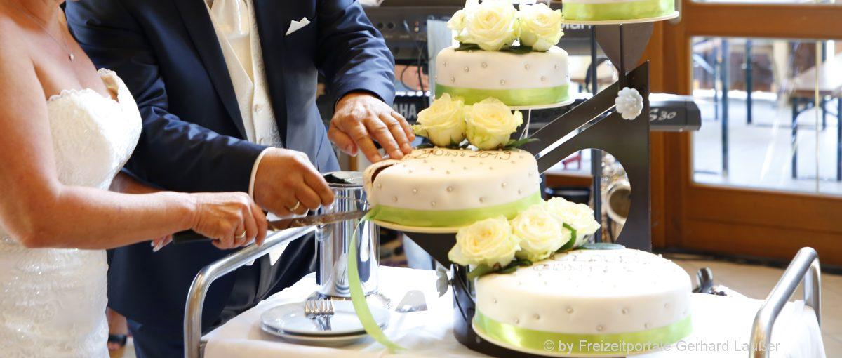 Hochzeitslocation Oberpfalz Hochzeitssaal Weiden Hochzeitstorte