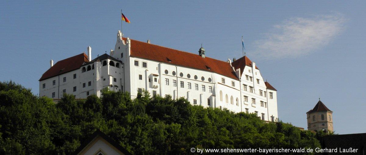 Burg Trausnitz in Landshut Eventlocation in Niederbayern