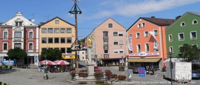 regen-freizeitangebote-niederbayern-eventlocation-stadtplatz-marktplatz