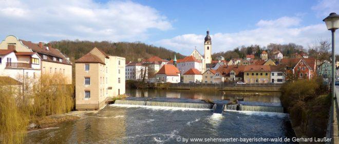 schwandorf-freizeitangebote-oberpfalz-ausflugsziele-naab-fluss-stadt
