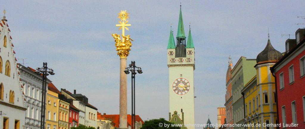 straubing-ausflugsziele-niederbayern-freizeitangebote-stadtturm-stadtplatz