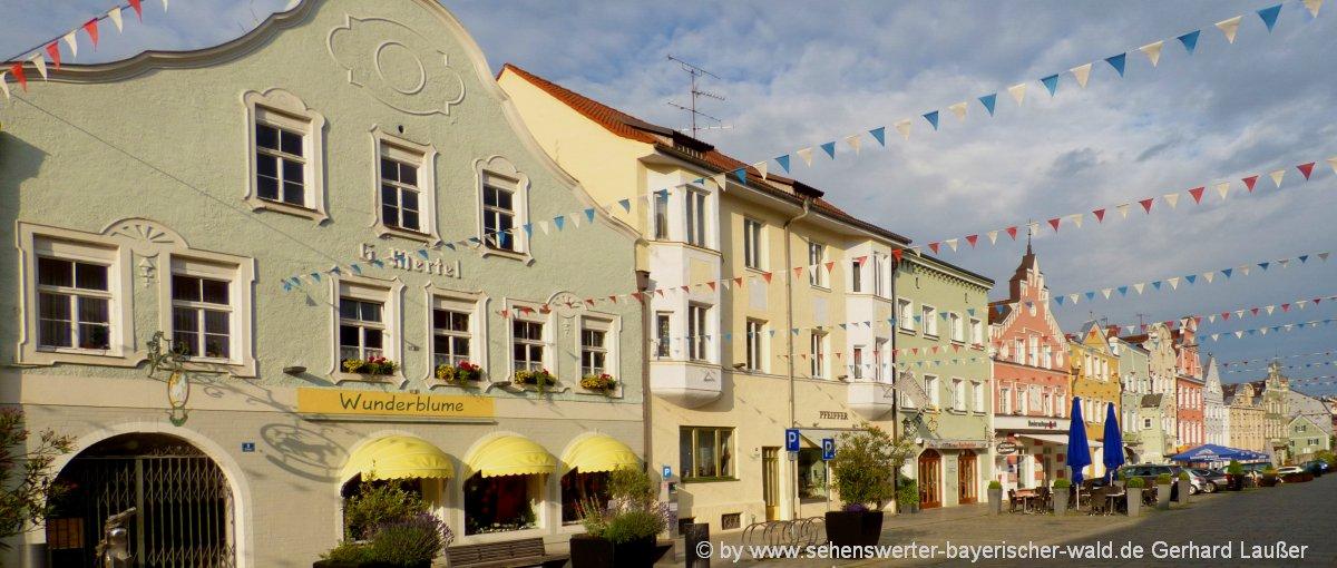 Stadtplatz in Vilsbiburg Eventlocation & Freizeitangebote